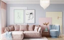 Sự lên ngôi của gam màu pastel trong căn hộ hiện đại