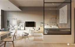Bất ngờ với không gian sống hiện đại bên trong căn hộ 20m2