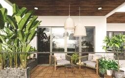 Thiết kế nhà diện tích nhỏ trên mảnh đất nở hậu với giá rẻ