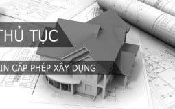 Thủ tục xin giấy phép xây dựng công trình mới nhất hiện nay