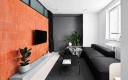 Ấn tượng căn hộ 40m2 với gam màu đen - trắng chủ đạo
