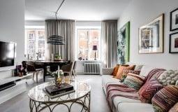 Một ý tưởng rất hay về thiết kế căn hộ với diện tích chỉ 55m2
