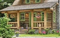 Sống đơn giản trong nhà nhỏ giữa rừng xanh mát