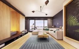 Ngôi nhà 124m2 với thiết kế nội thất chất lừ