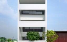 Ngôi nhà phố có thiết kế lạ mắt ở Bắc Ninh