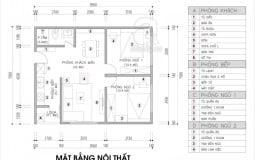 Tư vấn cải tạo không gian nội thất căn hộ 60m2 cho gia đình trẻ