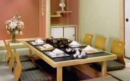 Xu hướng lựa chọn bàn ăn kiểu Nhật lên ngôi trong năm 2020