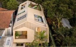 Ngôi nhà phá cách tràn đầy nắng gió của vợ chồng trẻ ở Sao Paulo