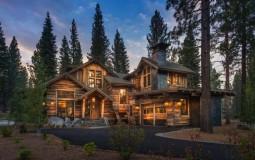 Nhà gỗ ấm áp dành cho những người thích kỳ nghỉ trên núi
