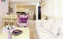 Màu tím trong thiết kế nội thất: Tưởng không đẹp mà 'đẹp không tưởng'