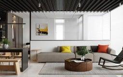 Thiết kế thông minh của ngôi nhà 2 phòng ngủ giúp nhân đôi diện tích
