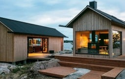 Ngôi nhà nhỏ thiết kế theo kiểu cabin dành cho những người ưa cuộc sống yên bình