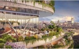 Tặng sân vườn cho chủ nhà tại dự án căn hộ cao cấp Sài Gòn