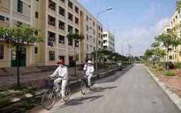 Khu nhà ở cho công nhân tại huyện Mê Linh được xây dựng