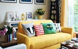 Cách trang trí ghế sofa cho phòng khách đẹp