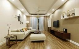 Thiết kế căn hộ 2 phòng ngủ với diện tích 132 m2