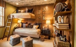 Biến hóa với phong cách thiết kế nội thất Rustic mới lạ