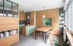 Bật mí thiết kế nội thất thông minh cho căn hộ mini 30m2
