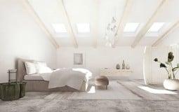 Biến căn gác mái tẻ nhạt thành phòng ngủ đẹp xinh chỉ trong nháy mắt với muôn vàn những ý tưởng sau