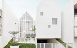UR House – Ngôi nhà 2 mái chóp với cách tận dụng khu đất cũ thông minh
