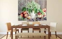 Tranh treo tường phòng bếp đẹp hiện đại
