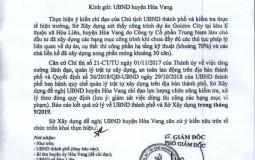 Trung Nam Land xây dựng dự án Khu đô thị sinh thái Golden Hills City không phép