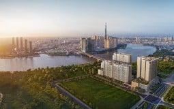 Tiến độ dự án The River Thủ Thiêm tháng 8 năm 2020