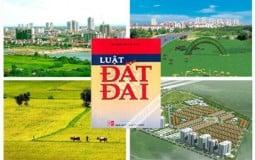 Lập Ban Chỉ đạo tổng kết thi hành Luật Đất đai và xây dựng Luật Đất đai sửa đổi