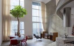 Căn hộ duplex gợi nhớ kiến trúc Sài Gòn xưa cũ