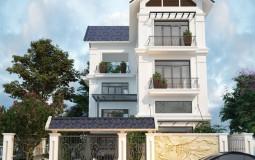 Khám phá mẫu nhà 3 tầng mái thái hiện đại 4 phòng ngủ tại Hải Dương