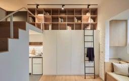 Thiết kế căn hộ nhỏ 22m2 sử dụng hiệu quả không gian