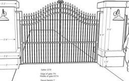 Kích thước cổng nhà chuẩn phong thủy mang lại thịnh vượng cho gia chủ