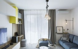Cảm nhận sự độc đáo của căn hộ pha trộn 3 gam màu thống trị những năm đầu thế kỉ 20