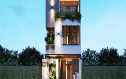 Chiêm ngưỡng ngôi nhà 3 tầng mang sự phá cách độc đáo