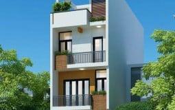 Học hỏi ngay mẫu thiết kế cho căn nhà 5x20m có gara ô tô của kiến trúc sư tại gia