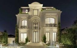 Cập nhật ngay mẫu thiết kế nội thất tân cổ điểm cho cho căn nhà 250m2