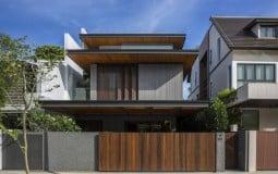 Open Ended House – Ngôi nhà Singapore nổi bật nhờ mái hiên siêu rộng và không gian sống xanh mướt tuyệt vời