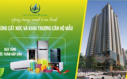 Dự án Phú Thịnh Green đã cất nóc và chính thức khai trương căn hộ mẫu