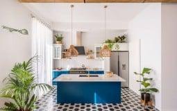 Cặp vợ chồng trẻ cải tạo lại căn hộ cũ 80m2 thành tổ ấm rộng thoáng và đầy màu sắc