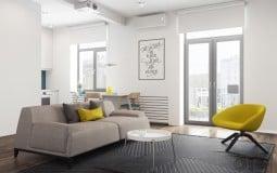 """Khám phá ngay 3 mẫu căn hộ hiện đại với diện tích khiêm tốn nhưng đầy đủ, khiến ai cũng """"thích mê"""""""