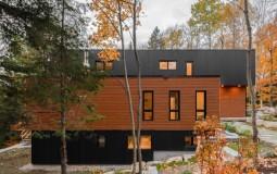 """Ngôi nhà 390m2 trong rừng được thiết kế dạng lắp ghép để không làm """"tổn thương"""" đến thiên nhiên"""