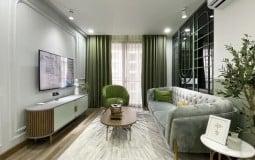 Mãn nhãn với mẫu thiết kế nội thất căn hộ chung cư đẹp đốn tim người nhìn