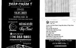 """Sở Xây dựng Ninh Thuận """"tuýt còi"""" dự án khu dân cư Tháp Chàm 1"""