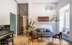Căn hộ hơn 80 năm tuổi thay đổi ngoạn mục theo phong cách chic home