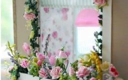 Ý tưởng thiết kế gương trang trí vừa đơn giản vừa độc đáo cho ngôi nhà của bạn