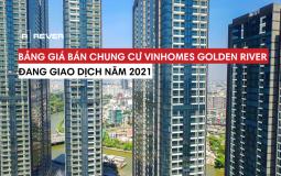 Tổng quan dự án Vinhomes Golden River và bảng giá đang giao dịch năm 2021