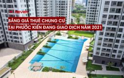 Tổng hợp giá thuê các căn chung cư Phước Kiển đang giao dịch năm 2021