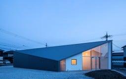 Ngôi nhà hẹp ngang chỉ 2m với thiết kế lấy cảm hứng từ viên kim cương độc đáo
