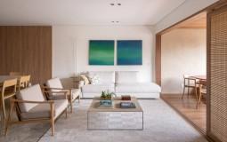 Căn hộ 190m2 tại Brazil ấn tượng với thiết kế 2 phòng khách liền kề