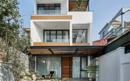"""Căn nhà """"resort"""" thỏa mãn mọi yêu cầu của gia đình ba thế hệ tại Hà Nội"""